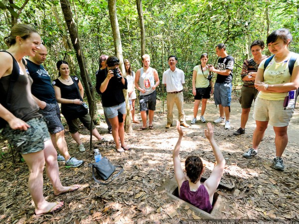 Cu Chi Tunnels - Saigon City